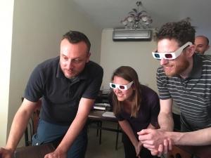 Paolo Del Vesco, Miriam Müller and Nico Staring. Photo: Luca Perfetti.