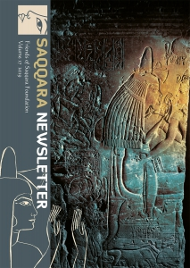 Saqqara Newsletter, vol. 17 (2019) cover