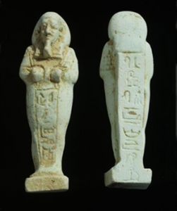 Shabtis of Pabes, found in Iniuia's tomb